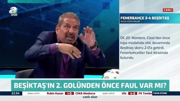 Beşiktaş'ın 2. golünden önce faul var mı?