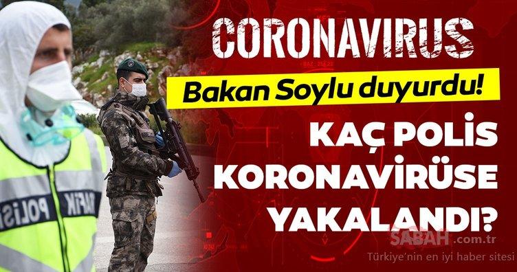 Son dakika: Kaç tane polis ve jandarma corona virüse yakalandı? İşte, KOVİD-19'a yakalanan polis ve valiler!