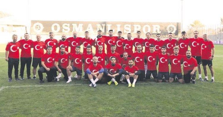 Osmanlıspor'dan ordumuza tam destek