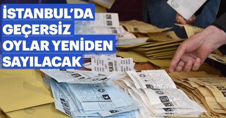 Son dakika haberi: İl Seçim Kurulu'ndan flaş karar! İstanbul'da tüm geçersiz oylar yeniden sayılacak