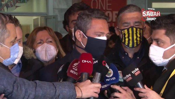 Başakşehir galibiyeti ardından Fenerbahçe Başkanı Ali Koç'an flaş açıklamalar