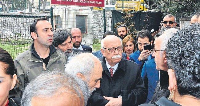 Basmane'de Bakan Avcı'yı üzen manzara
