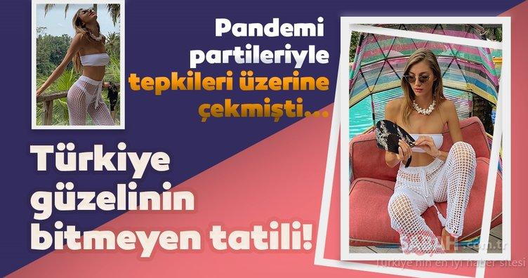 Pandemiyi Miami'de geçiren Türkiye güzeli Şevval Şahin şimdi de Bali'de! Daha yeni başlıyorum