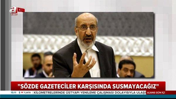 Son Dakika Haberi: AK Parti'den Abdurrahman Dilipak'a dava   Video