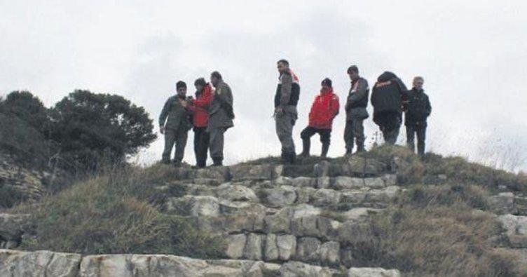 İntihar kayalıklarında jandarma nöbeti
