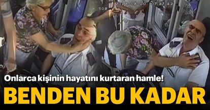 Seyir halinde kalp krizi geçiren otobüs şoförü: Benden bu kadar