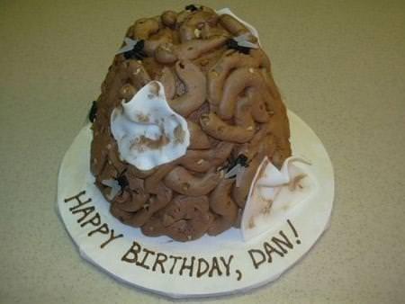 Görüp görebileceğiniz en çirkin pastalar