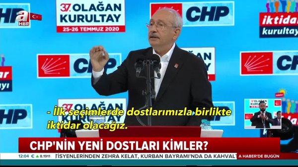 Kemal Kılıçdaroğlu'nun açıkladığı CHP'nin dostları kim? | Video