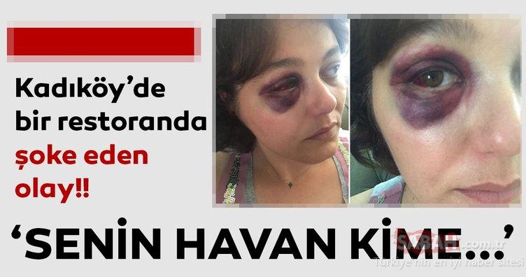Son dakika haberi: İstanbul Kadıköy'de 1 kadını darp eden saldırgana 1 yıl 6 ay hapis cezası verildi