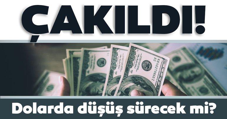 Son dakika: Dolar kuru çakıldı! Dolar düşüşünü sürdürecek mi?