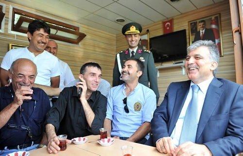 Abdullah Gül'ün en sevdiği kareler