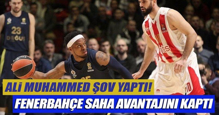 Fenerbahçe Doğuş, Kızılyıldız'ı farklı geçti