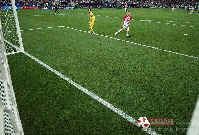 Fransa - Hırvatistan maçından kareler