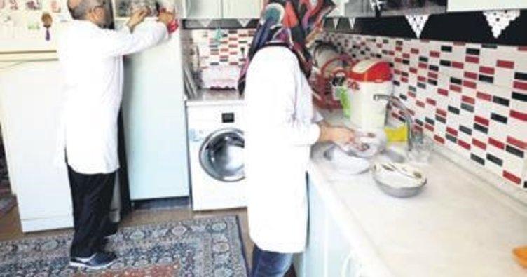 Her ay 500 ev temizleniyor
