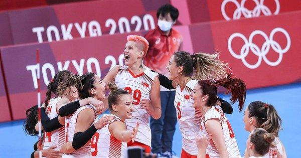 Türkiye voleybol puan durumu ile Filenin Sultanları Türkiye kaçıncı sırada? Tokyo Olimpiyatları Voleybol puan durumu ve sıralaması tablosu