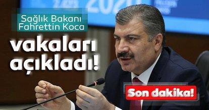SON DAKİKA: Sağlık Bakanı Fahrettin Koca '3 Ağustos' vaka ve vefat sayılarını açıkladı
