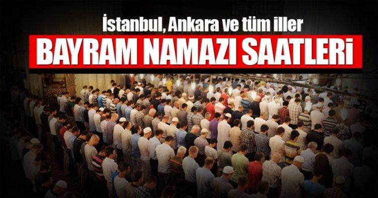 Ramazan bayram namazı saatleri Diyanet'ten belli oldu! İstanbul ve Ankara'da bayram namazı saatleri kaçta başlıyor?