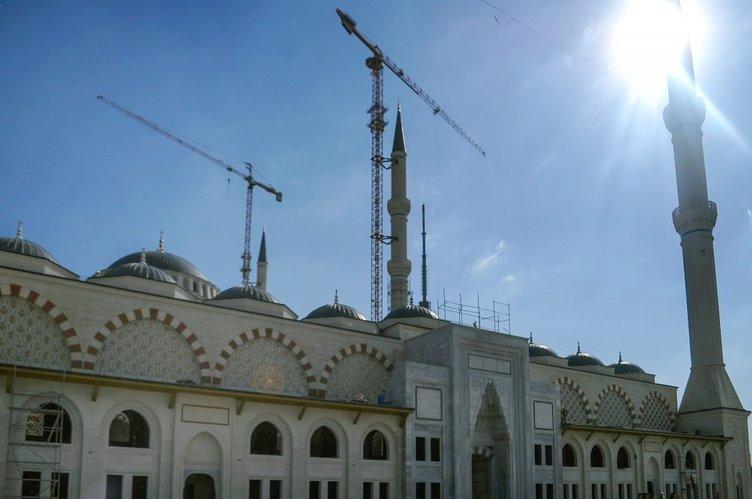 Çamlıca Camii'nde sona yaklaşılıyor