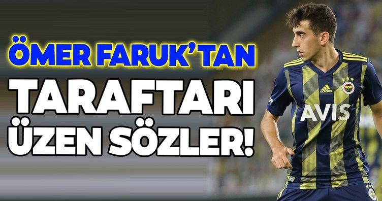 Transferde son dakika: Ömer Faruk Beyaz'dan Fenerbahçe taraftarını üzen açıklama!