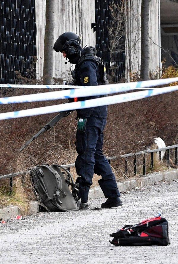 İsveç'in başkenti Stockholm'de patlama!