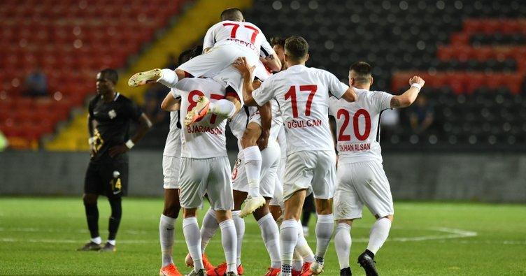 Gazişehir Gaziantep 2-0 Osmanlıspor | Maç sonucu
