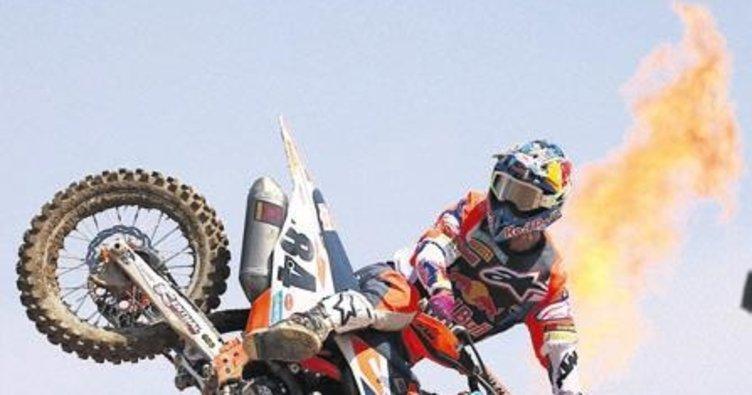 Afyonkarahisar'da kürsü Red Bull'un