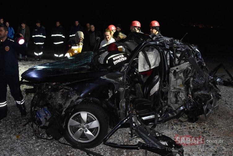 Bebek bekleyen doktor çift trafik kazasında hayatını kaybetti