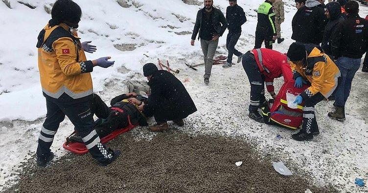 Sarıkamış'ta kaza: Çok sayıda yaralı