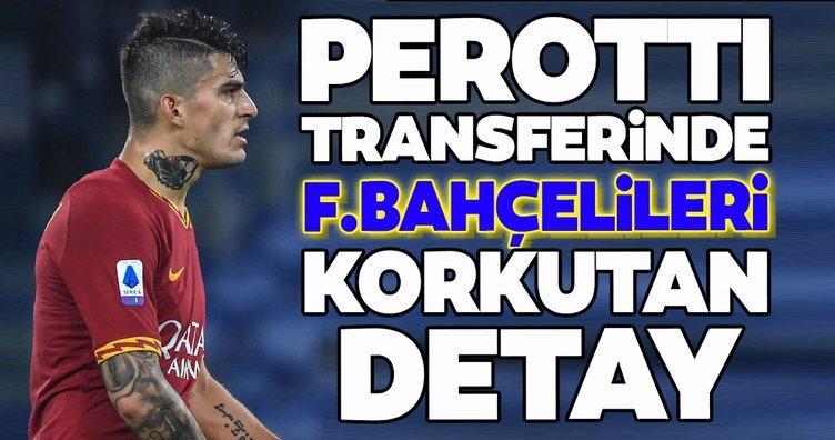 Diego Perotti transferinde Fenerbahçelileri korkutan detay!