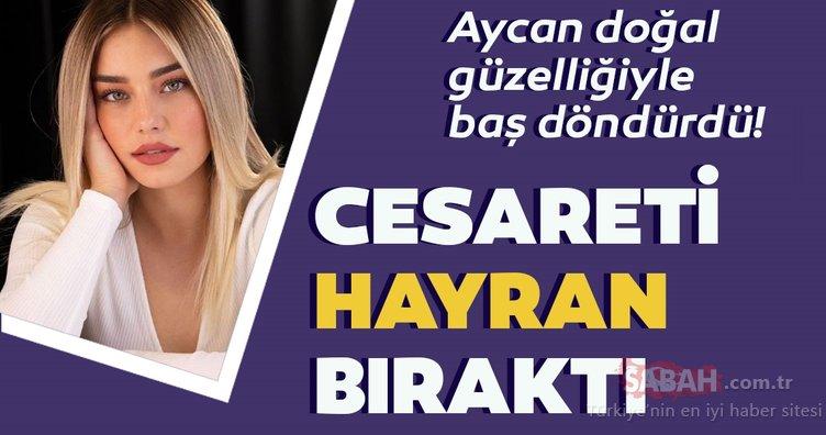 Survivor Aycan Yanaç doğal güzelliğiyle baş döndürdü!