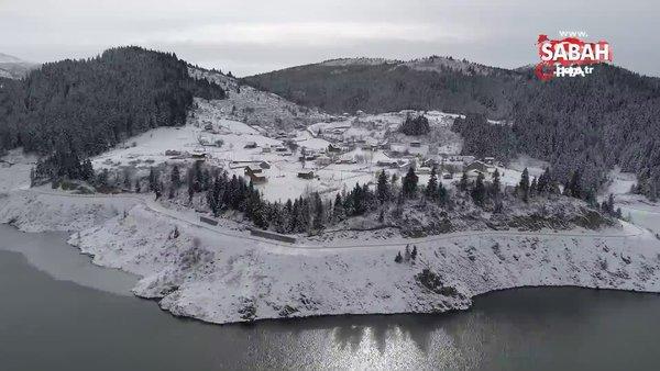 Karadeniz yaylalarında mest eden kar manzaraları | Video
