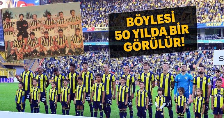 Böylesi 50 yılda bir görülür! Fenerbahçe...