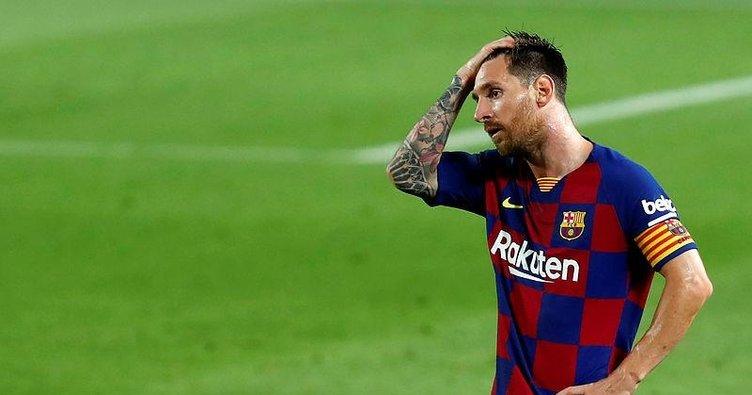 La Liga'dan Lionel Messi'ye şok! Barcelona...