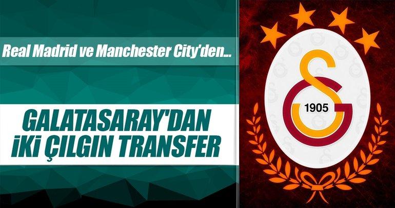 Galatasaray'dan iki çılgın transfer