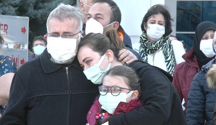 Koronavirüs nedeniyle hayatını kaybeden Emine Hemşire'ye son bakış yürekleri burktu!