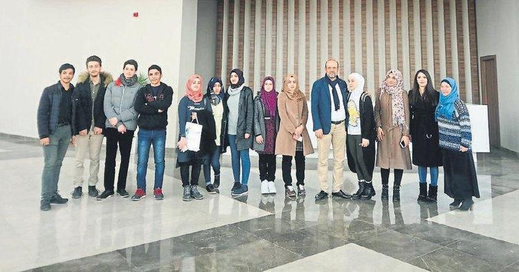 HKÜ kampüsüne uluslararası ziyaret