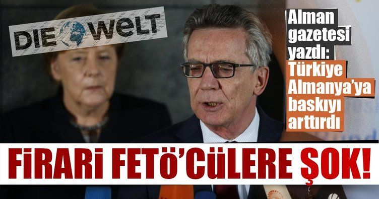 Türkiye'den Almanya'ya FETÖ baskısı