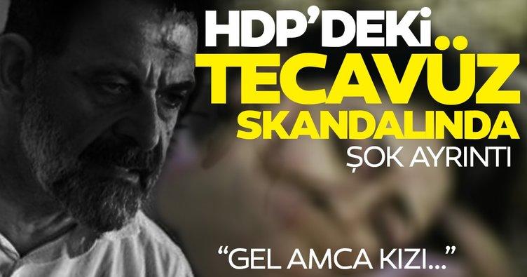 HDP'de tecavüz skandalı! HDP'liler tecavüzü böyle örtbas etmek istedi