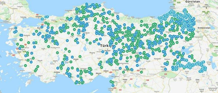 71 il yerli ve milli baz istasyonu ULAK'la Alo diyor!