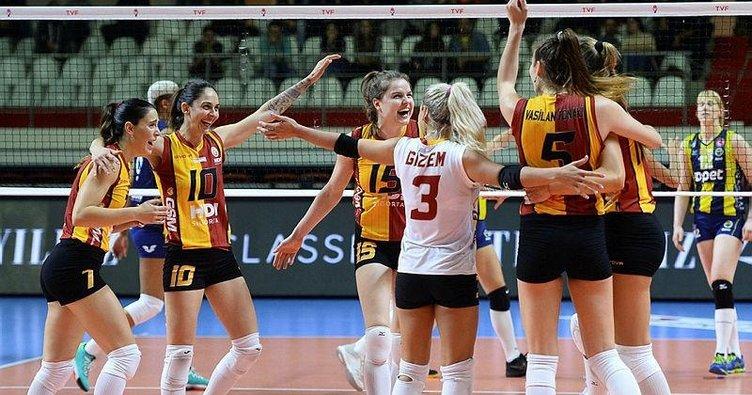 Filede dev derbide zafer Galatasaray HDI Sigorta'nın