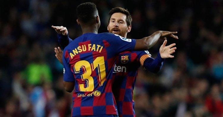 Barcelona Levante karşısında genç yıldızı Fati'nin golleriyle güldü! Maç sonucu: Barcelona 2 - 1 Levante