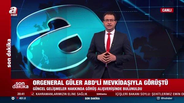 Son Dakika Haberi: Genelkurmay Başkanı Güler ABD'li mevkidaşıyla görüştü   Video