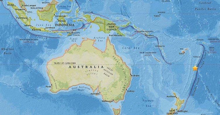 Pasifik ülkesi Tonga'da 6.1 büyüklüğünde deprem