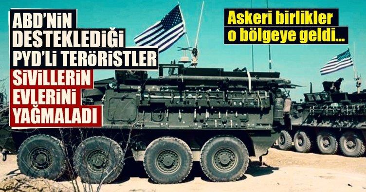 ABD'den PKK/PYD yağmasına tepki