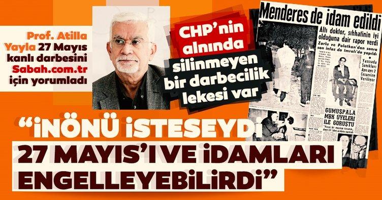 Prof. Atilla Yayla: CHP'nin alnında silinmeyen bir darbecilik lekesi var