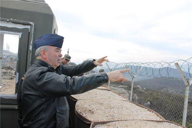 Hava Kuvvetleri Komutanı Ünal, Suriye sınırında