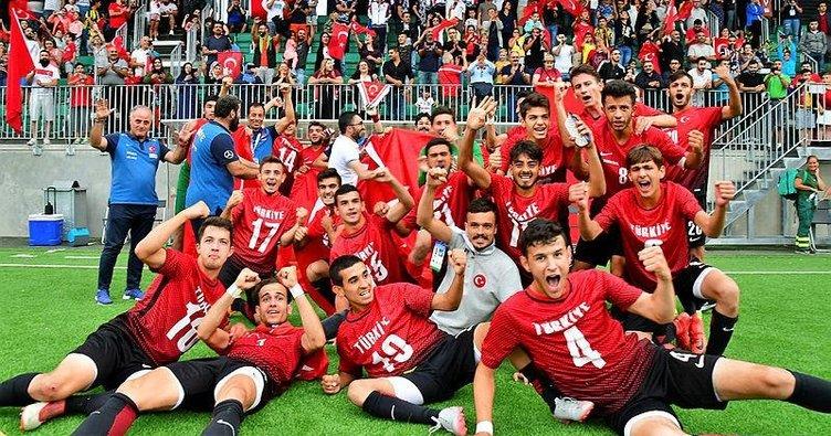 Başkan Erdoğan, İşitme Engelliler U21 Milli Takımı'nın başarısını kutladı
