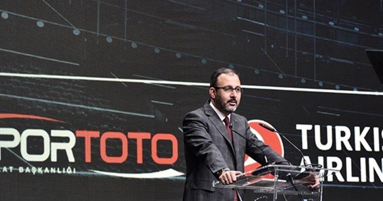 Bakan Kasapoğlu Sabah Gazetesi'nin düzenlediği Uluslararası Futbol Ekonomi Forumu'nda konuştu
