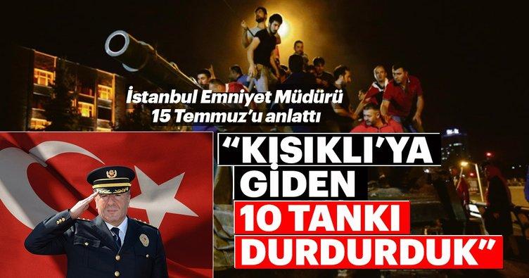 Mustafa Çalışkan: Kısıklı'ya doğru giden 10 tankı durdurduk