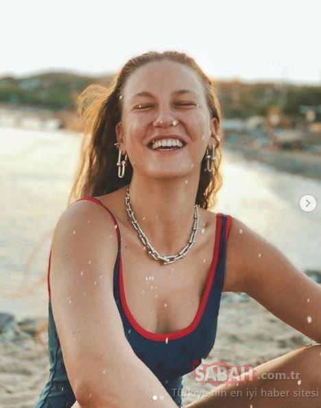 Serenay Sarıkaya'nın kumsal pozunun maliyeti dudak uçuklattı! Sosyal medyada ilgi odağı oldu!